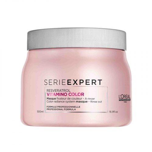 Goedkoop L'Oréal Professionnel Vitamino Color Masker 500ml kopen bij KappersOutlet