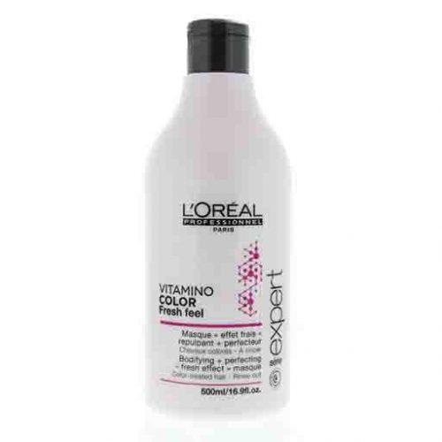 L'Oréal Professionnel - Serie Expert Vitamino Color Fresh Feel Masker 500ml KappersOutlet