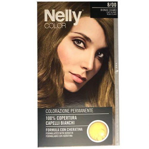 Nelly Color 8/00 Lichtblond Haarkleuring kappersoutlet