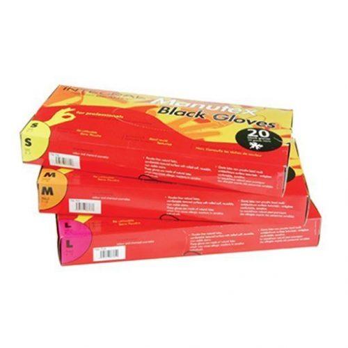 Cerunik - Manutex Handschoenen Zwart Smal kappersoutlet