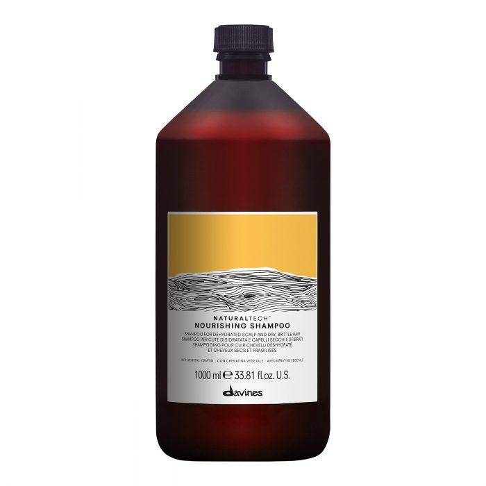 davines naturaltech nourishing shampoo 1000ml kappersoutlet