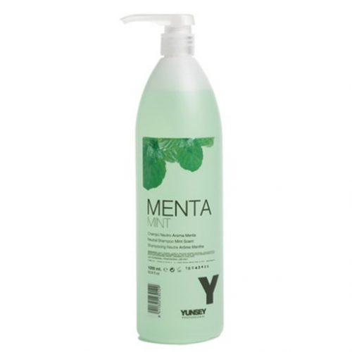 Yunsey neutral mint shampoo 1000ml kappersoutlet