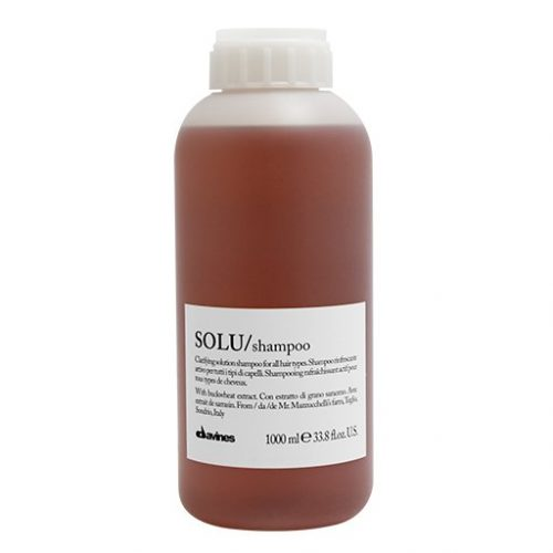 davines essential haircare solu shampoo 1000ml kappersoutlet