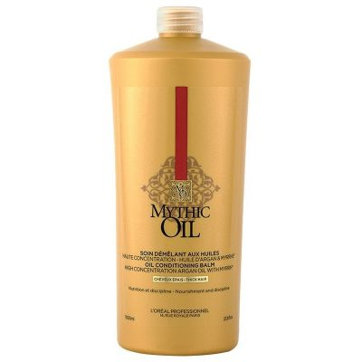 l'oréal professionnel l'oreal mythic oil conditioner dik haar 1000ml kappersoutlet
