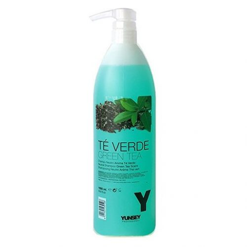 yunsey neutral green tea shampoo 1000ml kappersoutlet