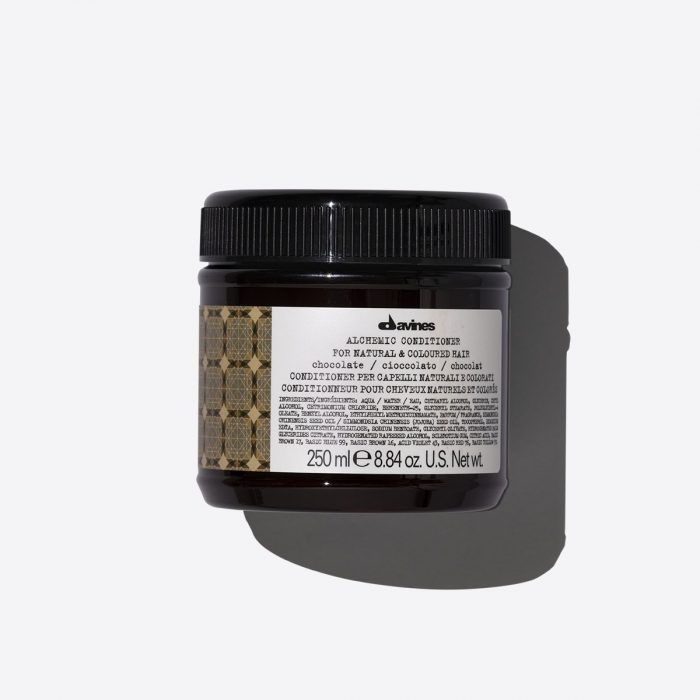 davines alchemic conditioner chocolate 250ml kappersoutlet