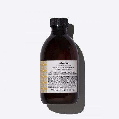 davines alchemic shampoo golden 280ml kappersoutlet