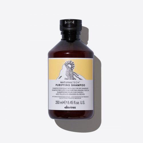 davines naturaltech purifying shampoo 250ml kappersoutlet
